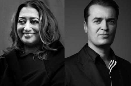 Zaha Hadid và Patrik Schumacher