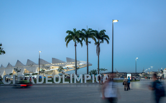 SCHRÉDER, Chiếu sáng Thành phố Rio Janeiro