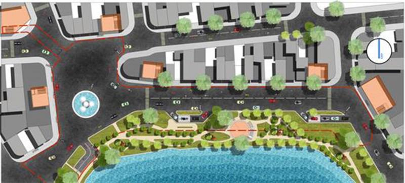 """Thiết kế nghiên cứu áp dụng giải pháp 1-2: """"Phố dưới lòng phố cổ"""" dưới Quảng trường Đông kinh Nghĩa Thục. Kết hợp giao thông bộ hành ngầm với cung cấp dịch vụ đa ngành cho khu vực lõi đô thị có nhu cầu dịch vụ cao nhưng hết quỹ đất."""