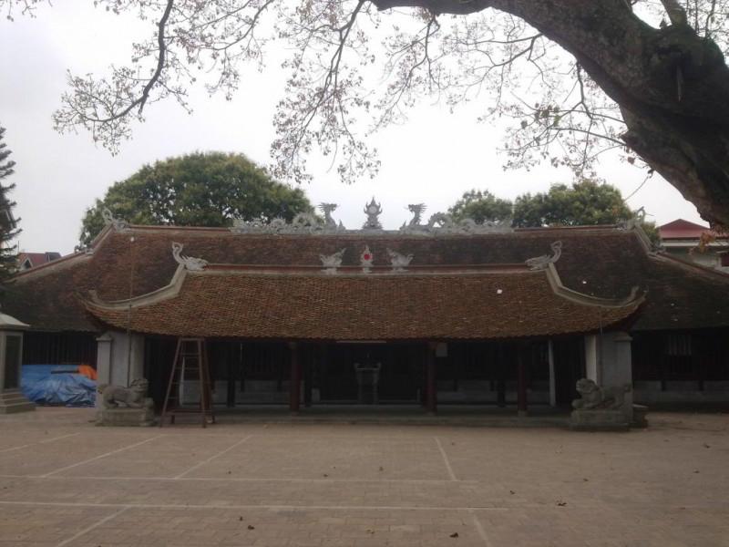 Đình làng Phù Lưu, nơi thờ Thủy tổ bên dòng Tiêu Tương (Ảnh: nguồn internet).