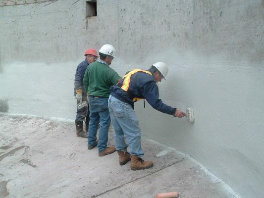 Phương pháp chống thấm cho tường ngoài trời