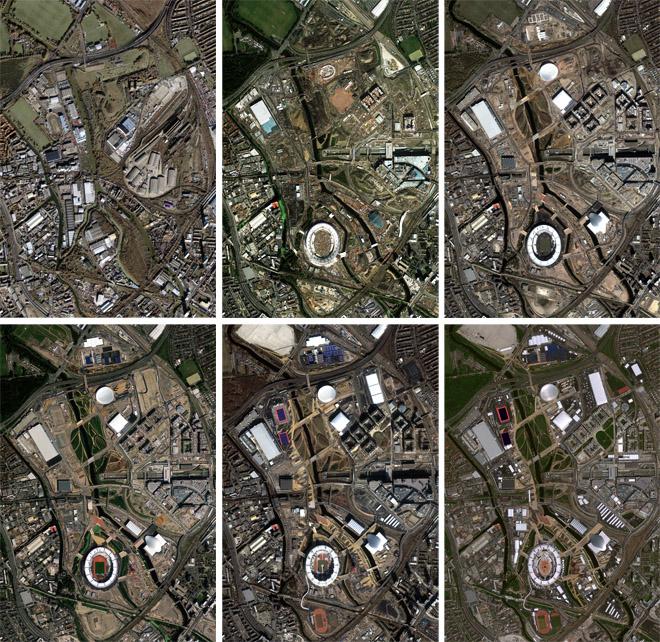 Hình 5: Làng olympic London và các dự án tái phát triển những khu đất hoang hoá