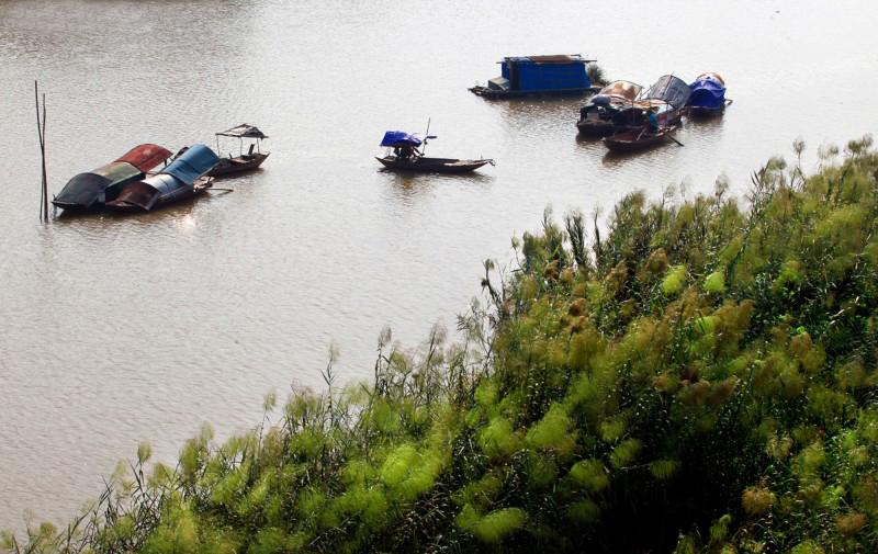 Dân gian cho rằng: Dòng Tiêu Tương bắt nguồn từ sông Hồng (Ảnh: Viết Mạnh)