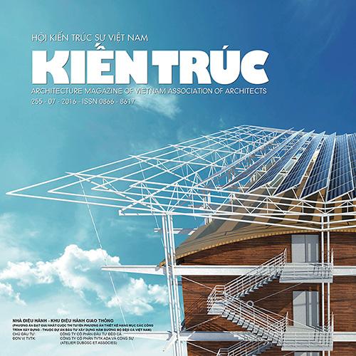 Tạp chí Kiến trúc - Số 07-2016