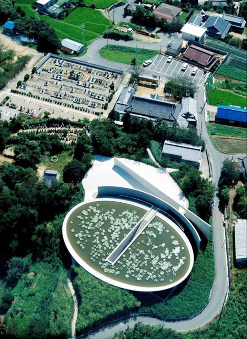Hình ảnh công trình Chùa Nước – Tadao Ando
