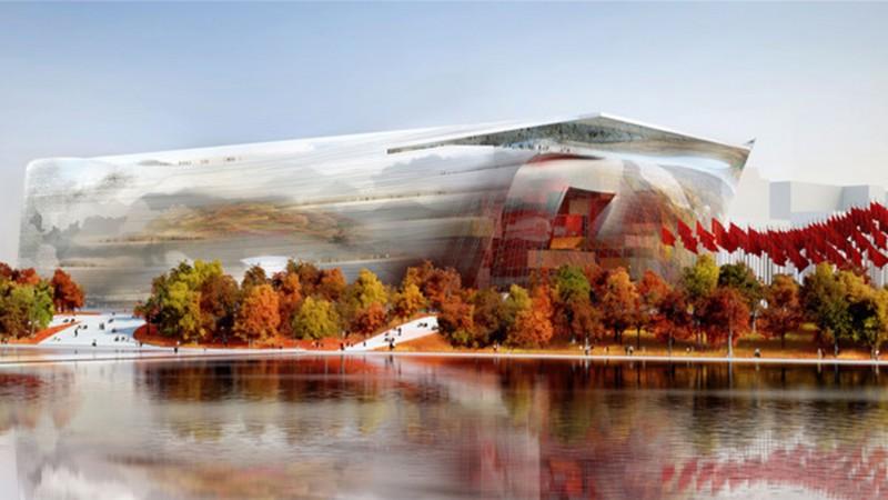 Bảo tàng Nghệ thuật Trung Quốc – Jean Nouvel