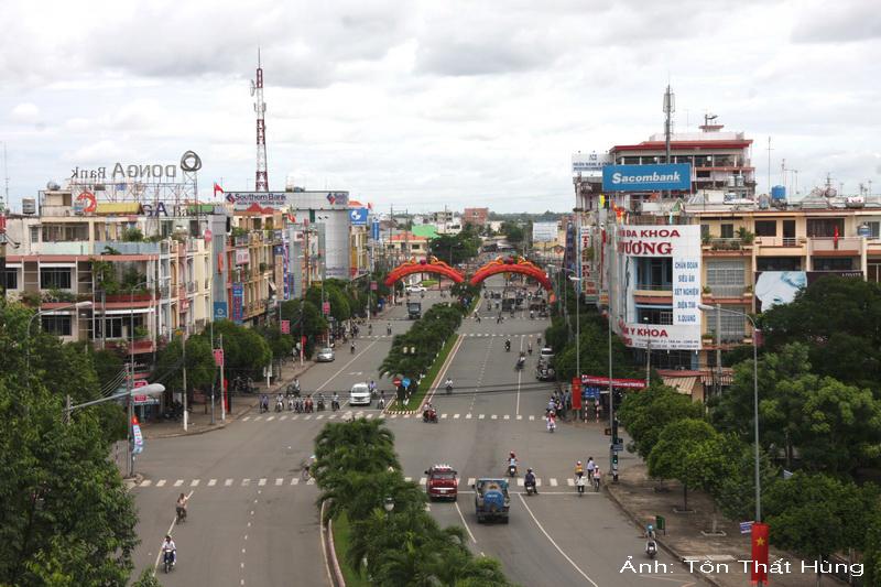 Một góc Thành phố Tân An