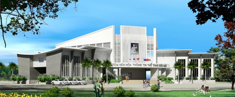 Trung tâm Văn hóa Thể thao Đức Huệ
