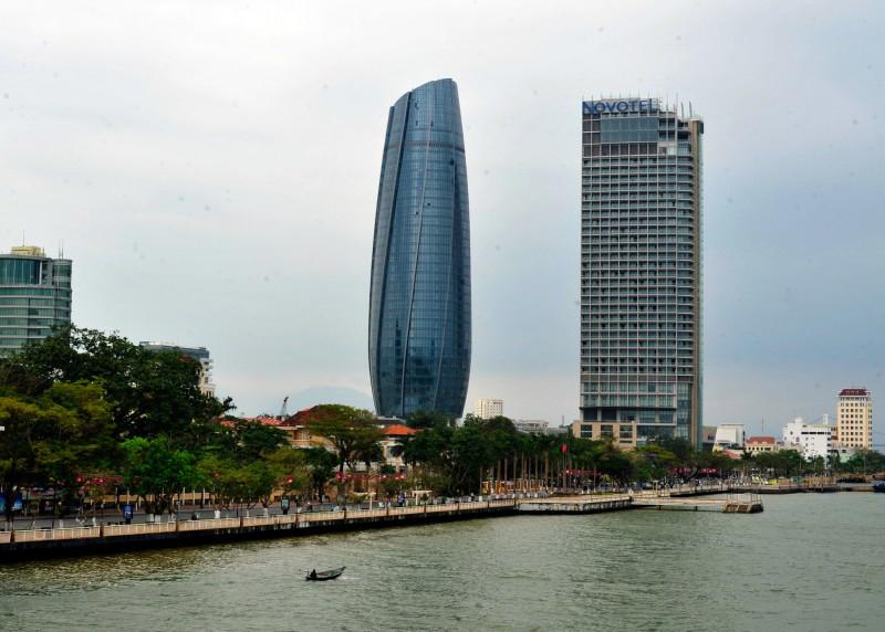 Trung tâm hành chính Đà Nẵng đã hoàn thiện