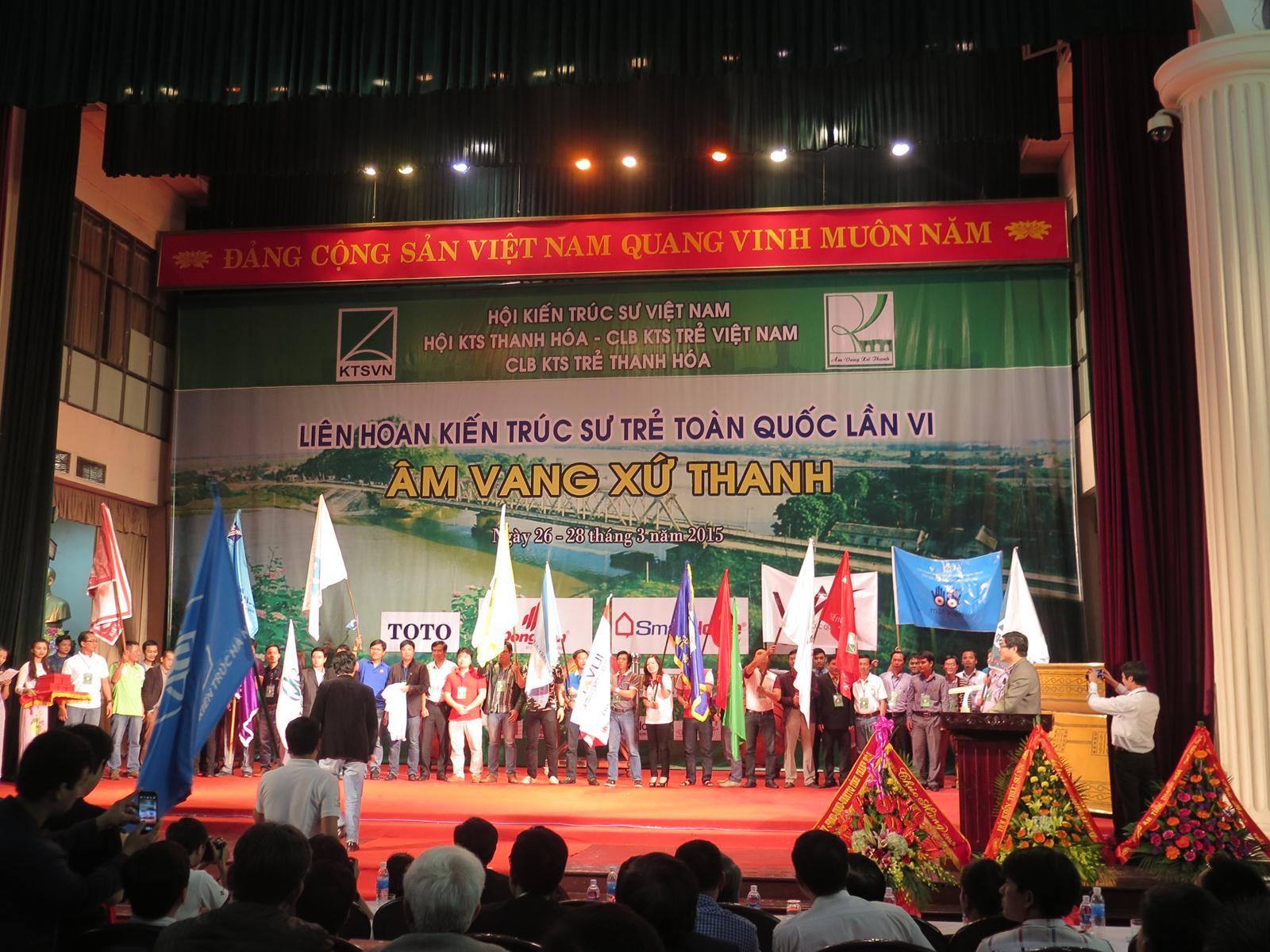 Khai mạc Liên hoan KTS trẻ toàn quốc lần thứ VI tại Thanh Hóa.