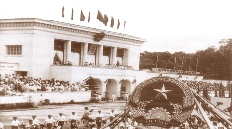 Lễ đài Ba Đình xây dựng năm 1960