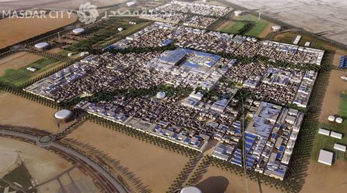 Trải nghiệm cuộc sống đô thị bền vững Masdar City