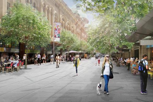 Hình ảnh của Hamburg trong 15 năm tới – đô thị không có xe ô tô.