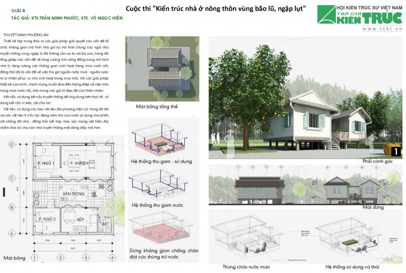 Nhà ở mùa nước nổi Float-S house Đồng Bằng Sông Cửu Long