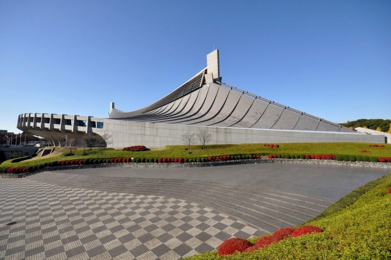 Công trình sân vận động Olympic Tokyo