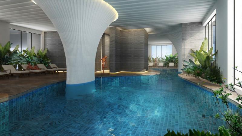 EcoLife Capitol được đầu tư bể bơi nước mặn 4 mùa và nhiều tiện ích hàng đầu cho cuộc sống năng động và tiện nghi.