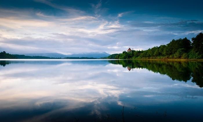 Yếu tố cây xanh, mặt nước, không gian cảnh quan và môi trường thành phố Pleiku
