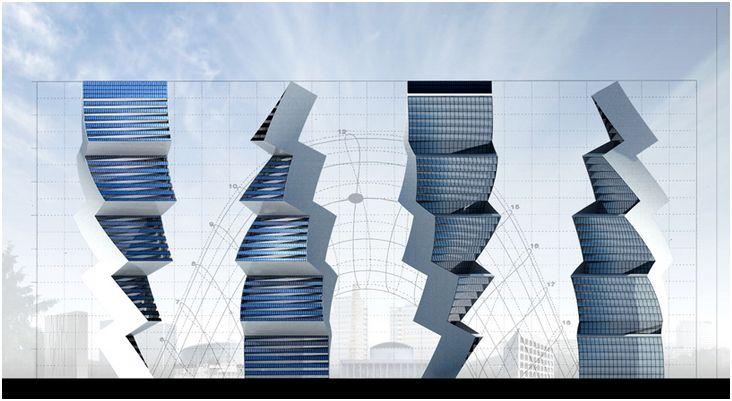 Hình khối, mặt ngoài của công trình được thiết kế thích ứng che nắng, tạo bóng râm, kiểm soát chiếu sáng và thông gió tự nhiên