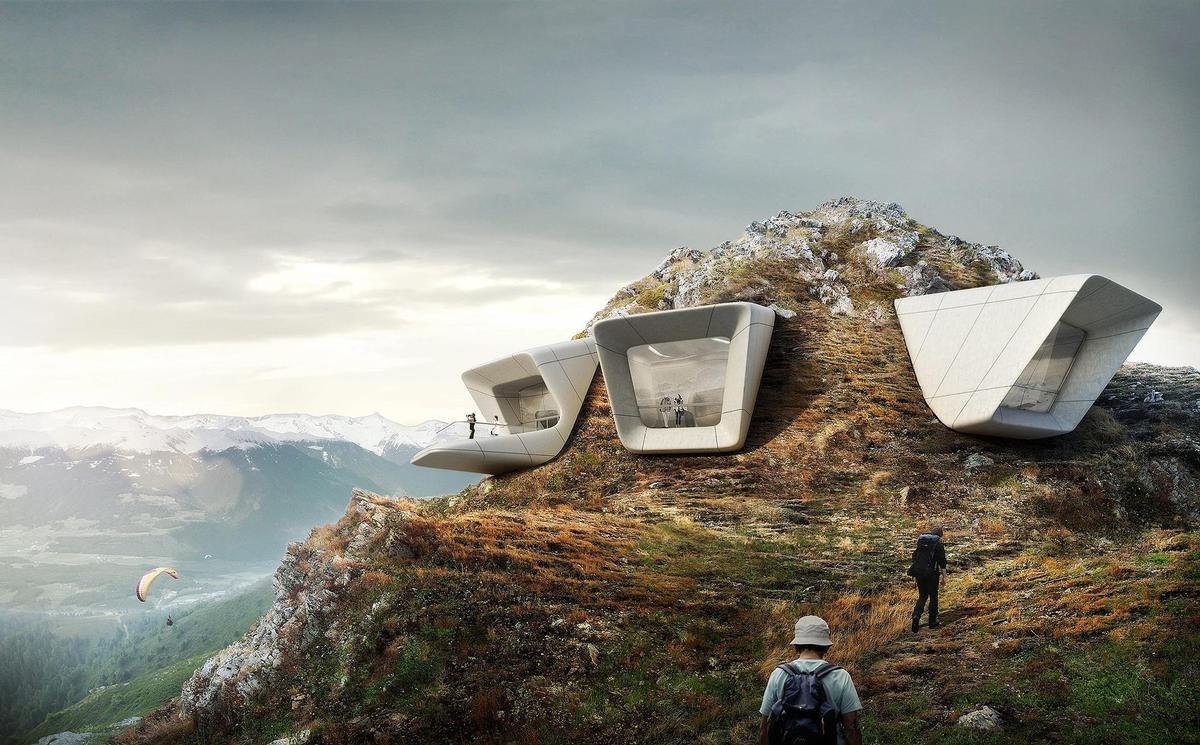 Messner Mountain Museum - Zaha Hadid