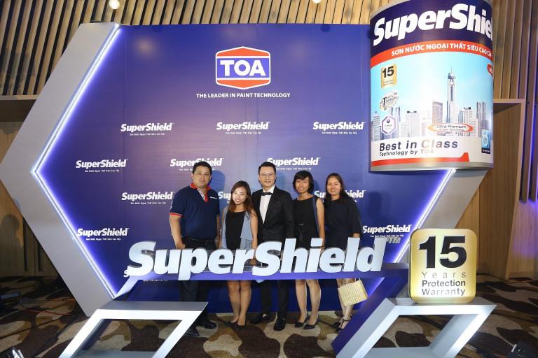 Cty TNHH Sơn TOA Việt Nam tổ chức họp báo ra mắt sản phẩm mới sơn nước ngoại thất siêu cao cấp Supershield