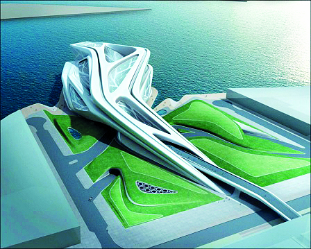 Hình 16: Trung tâm trình diễn nghệ thuật Abu Dhabi, UAE.
