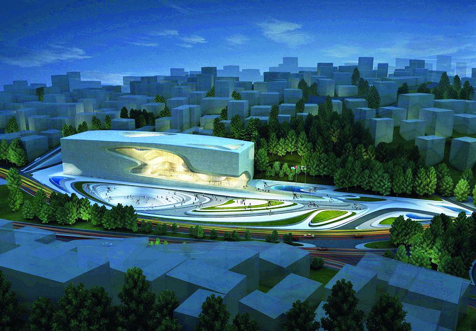 Hình 8. Trung tâm văn hóa nghệ thuật King Abdullah.
