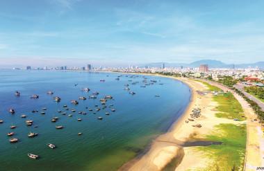 Bãi biển Đà Nẵng (ảnh: Lê Phước Chin)