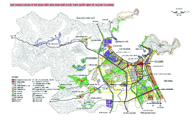 Quy hoạch chung TPĐN 2002