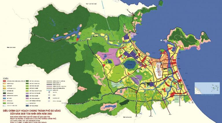 Quy hoạch định hướng phát triển không gian đô thị Đà Nẵng đến năm 2030 tầm nhìn đến năm 2050 (theo Quyết định phê duyệt 2357/QĐ-TTG của Thủ tướng Chính phủ)