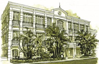Ủy ban Thành phố Đà Nẵng ngày hôm nay (Tòa Đốc lý hay Tòa Thị chính ngày xưa). Nguồn: Tài liệu của tác giả