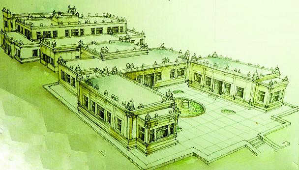 Bảo tàng Chăm được xếp hạng Nhất Cấp quốc gia và cũng là bảo tàng Chăm Pa duy nhất trên thế giới (nguồn: tài liệu của Tác giả)