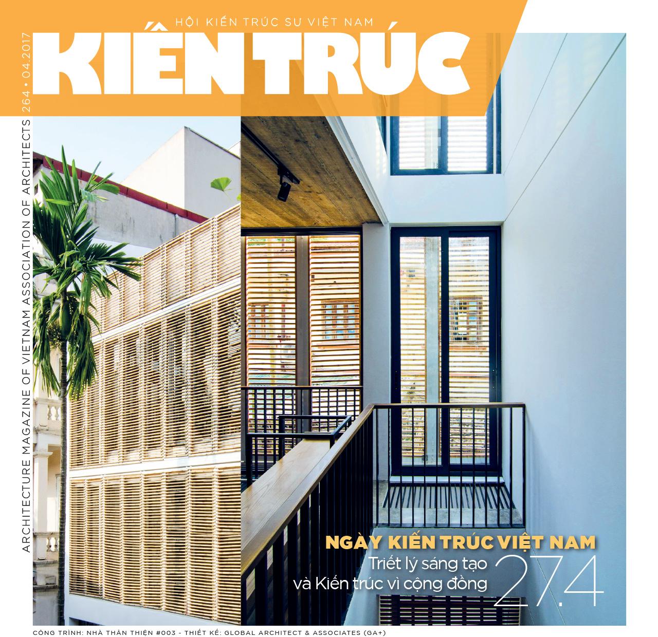 Tạp chí Kiến trúc số 04-2017