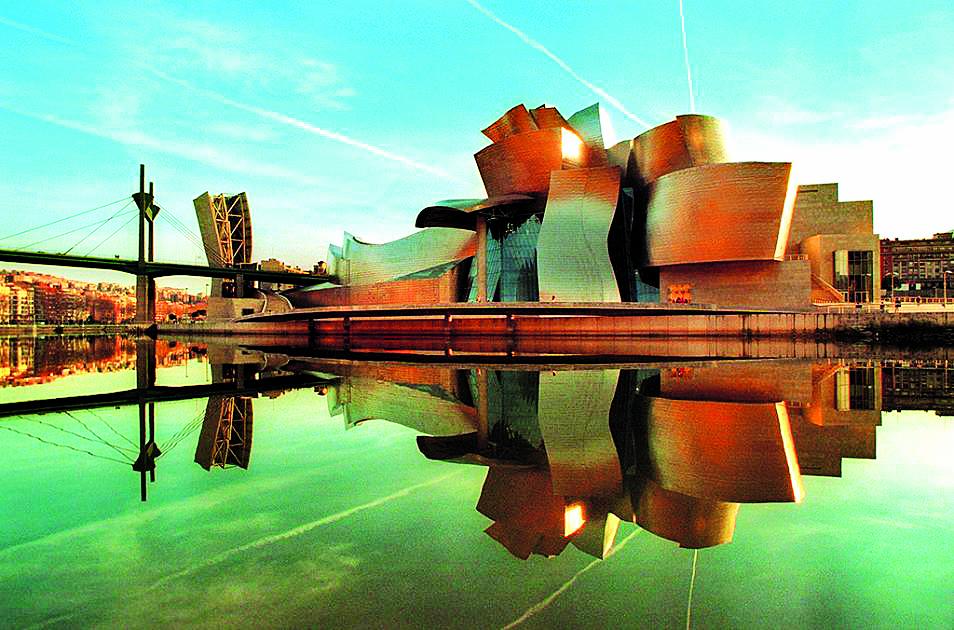 15. Guggenheim museum, Bilbao của Frank Ghery