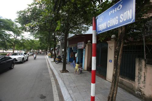 17B08015 tckt 01 - Hà Nội sắp mở phố đi bộ Trịnh Công Sơn