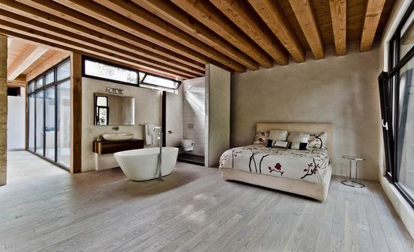 Phần lớn trong thiết kế kiến trúc, gỗ luôn là vật liệu mang lại sự tinh tế, ấm áp và hiện đại cho căn hộ