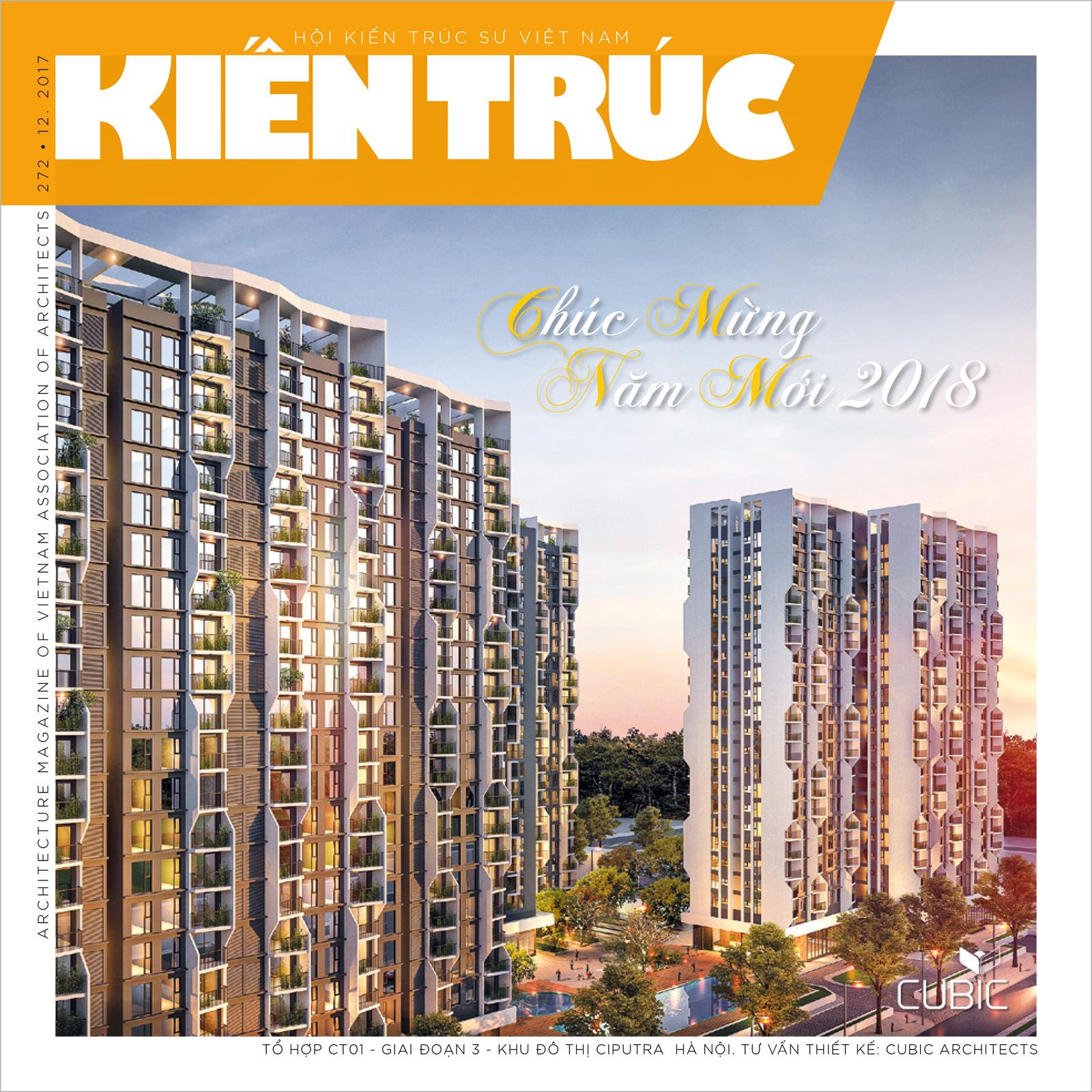 Tạp chí Kiến trúc số 12-2017