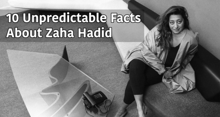 10 điều bất ngờ về KTS Zaha hadid