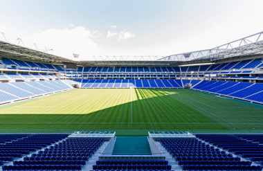 Thiết kế sân vận động với ghế Kotobuki