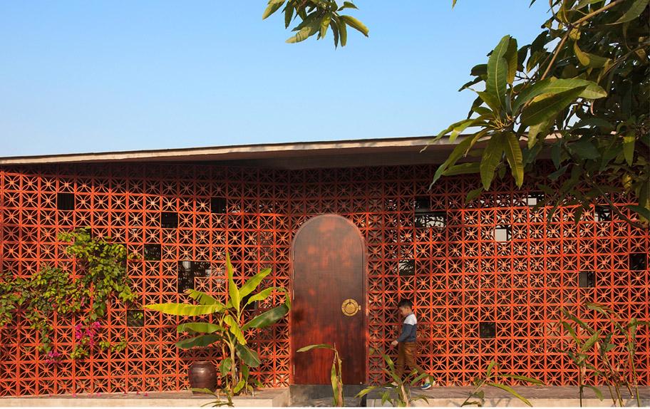 Maison A – Nhà quê thời hiện đại