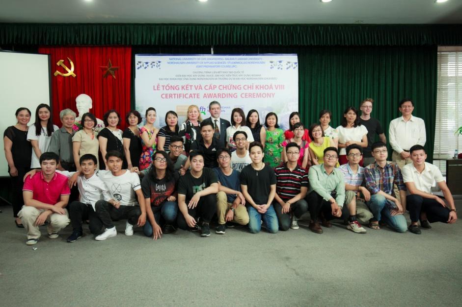 Liên kết đào tạo quốc tế Trường Đại Học Xây Dựng