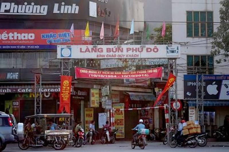 Quy hoạch và bảo tồn các làng nghề truyền thống Quận Nam Từ Liêm Truong VQ2