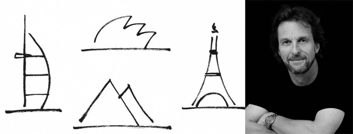 Từ sơ phác đến tác phẩm kiến trúc: KTS Tom Wright và công trình Burj Al Arab