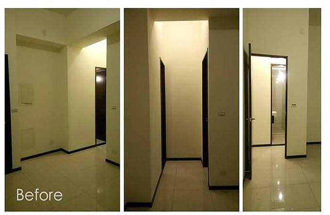 Không gian thú vị của căn hộ 33m2 sau khi cải tạo
