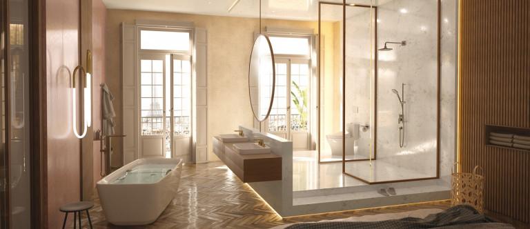 Mang sự thư thái vào không gian nhà tắm