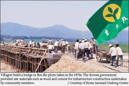 Sự tham gia cộng đồng trong phát triển nông thôn mới ở Việt Nam, Bài học từ trường hớp SAEMAUL, UNDONG Hàn Quốc