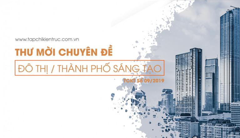 Mời tham gia Chuyên đề: Đô thị / Thành phố sáng tạo