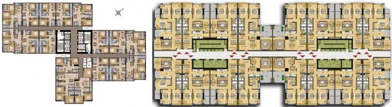 Lựa chọn mô hình kiến trúc xanh cho nhà chung cư cao tầng