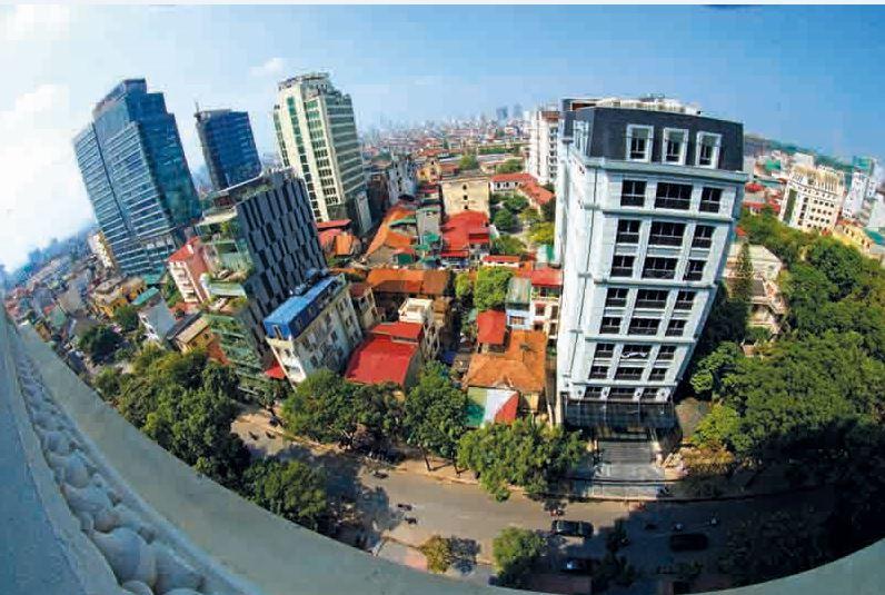 Nghiên cứu và đề xuất giải pháp quản lý kiến trúc mái trong đô thị