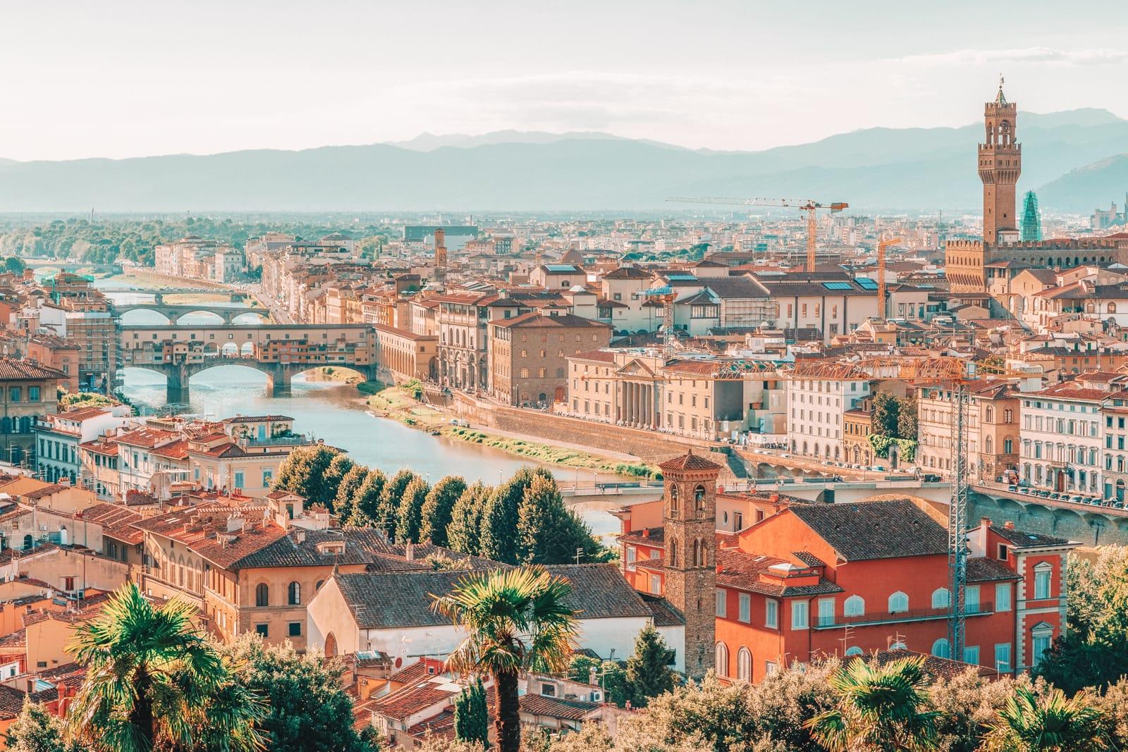 Những quảng trường ở Florence