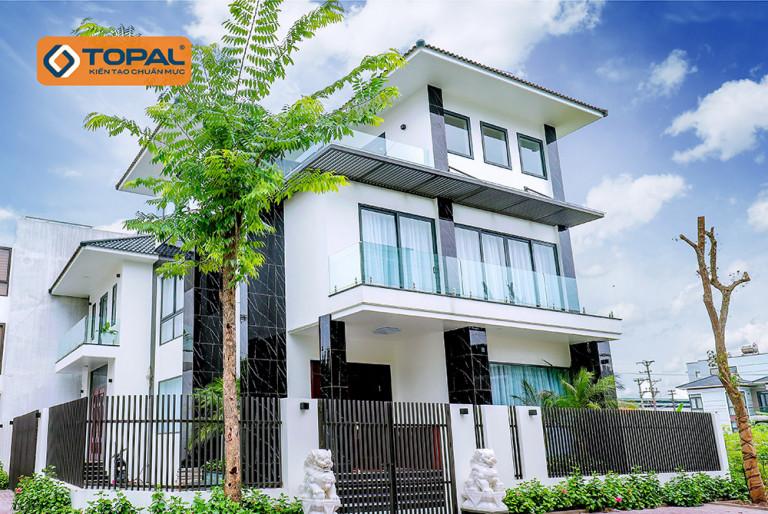 Cửa nhôm Topal – Dấu ấn xanh cho kiến trúc của bạn